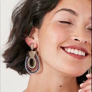Stella & Dot Novak Statement Earrings